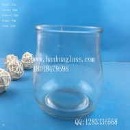 300ml Glass candlestick